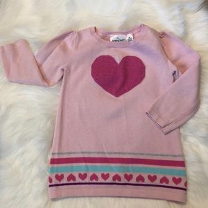 Jumping beans pink sweater